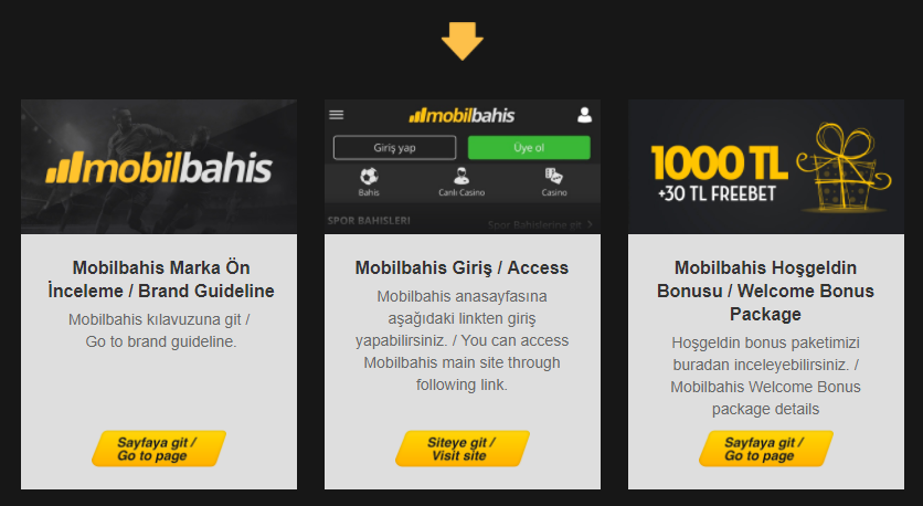 Mobil bahis bonuslar